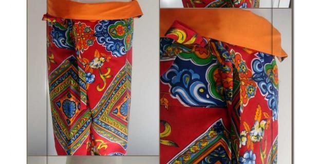 Patron de pantalon thai