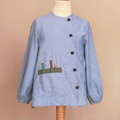 blouse d 39 colier pop couture. Black Bedroom Furniture Sets. Home Design Ideas