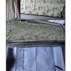 doublure robe sans manche