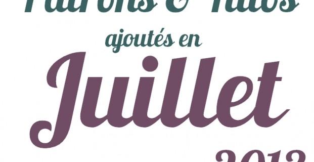 Tutos de couture Juilllet 2013