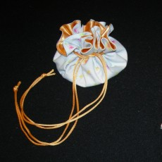 Aumonière porte-bijoux
