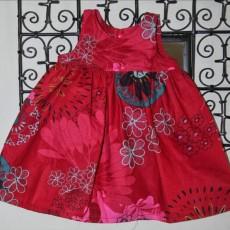 Montage robe à fronces