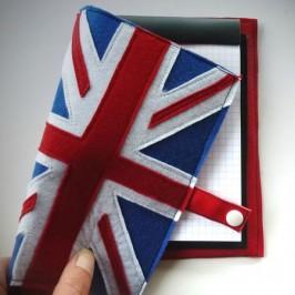 Carnet drapeau Royaume Uni