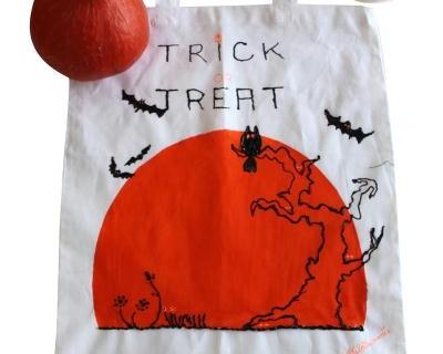 Tote bag d'Halloween