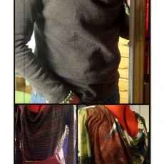 Pull ou robe col bénitier