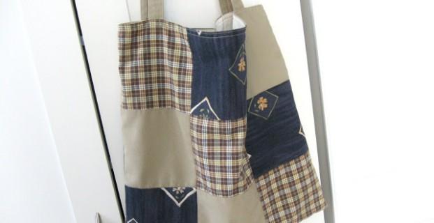 Fabriquer un sac patchwork avec des tissus récupérés