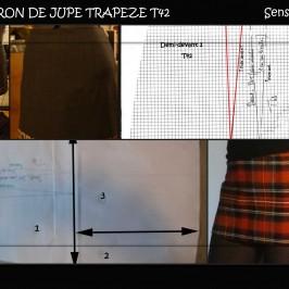 Jupe trapèze T42