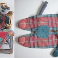 Doudou chat couture et tricot