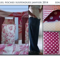 Poches suspendues
