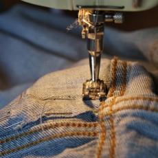 Réparer un jeans troué