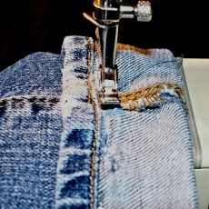 Ourlet jean