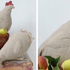 Poules en lin