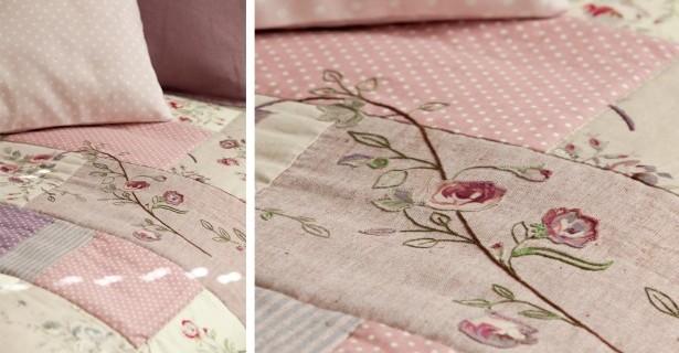 Dessus de lit patchwork pop couture - Patchwork modele gratuit dessus de lit ...