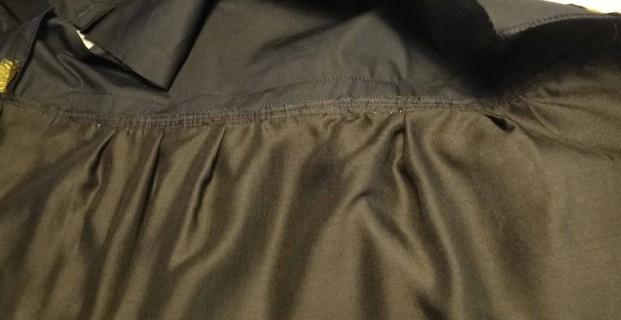 Doubler la jupe d'une robe vite