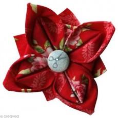 Fleur tissu facile