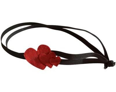 Headband coeurs