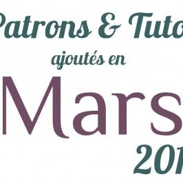 Nouveaux tutos Mars 2014