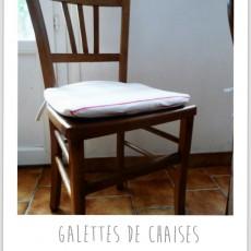 Housse galette de chaise