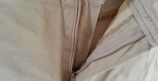 Monter une braguette avec sous patte pop couture - Comment reparer une braguette ...