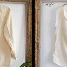 Recyclage chemise en Top