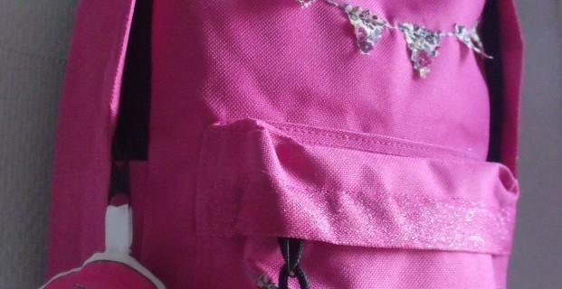 Customisation d'un sac a dos