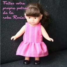 robe poupée sur mesure