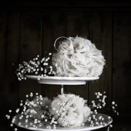 Réaliser un pompon avec des chutes de tissu