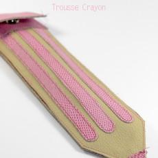 Trousse forme crayon