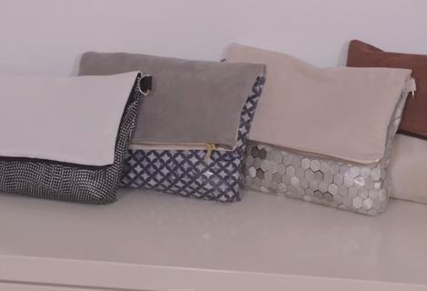 Sac rabat r versible pop couture - Tuto sac bandouliere avec rabat ...