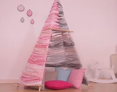 tipi enfant pop couture. Black Bedroom Furniture Sets. Home Design Ideas