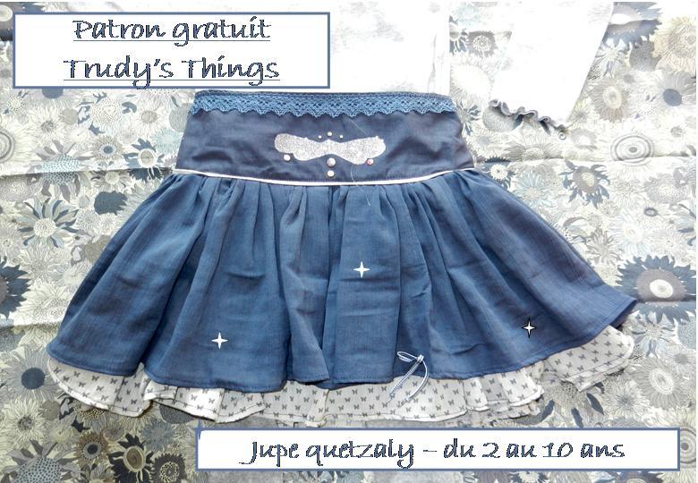 Jupe quetzaly pop couture - Patron jupe elastique fille ...