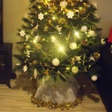 Jupe pour sapin de Noël