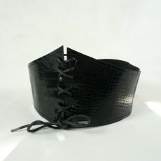 Guepier ceinture corset cuir