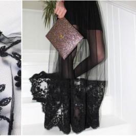 Custo robe noire