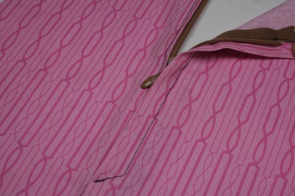 coudre une fermeture clair cach e sous un bord pop couture. Black Bedroom Furniture Sets. Home Design Ideas