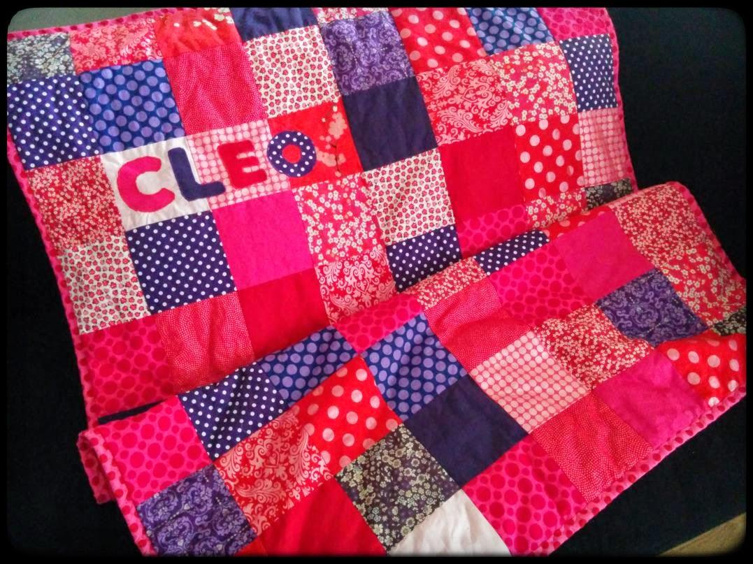 Plaid patchwork carr s pop couture - Tuto patchwork gratuit ...