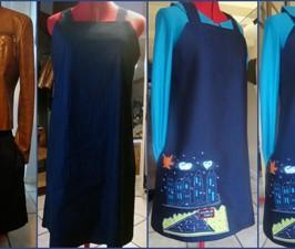 Comment monter une robe bretelles