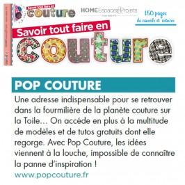 Pop Couture dans la presse