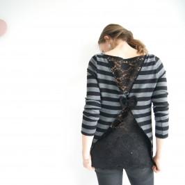 blouse avec dos en dentelle