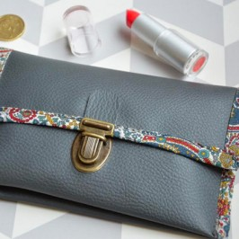 DIY Portefeuille simili cuir