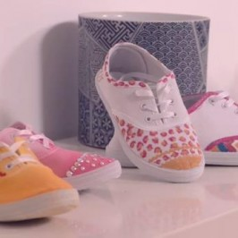 Customiser des baskets