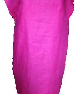 Assemblage d'une robe trapèze inversé