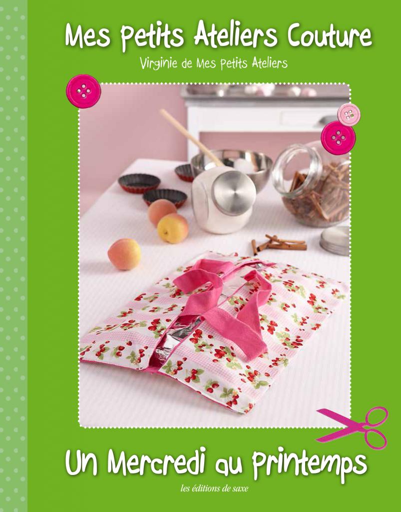 """Livre de couture pour enfant """"Un mercredi au printemps"""""""