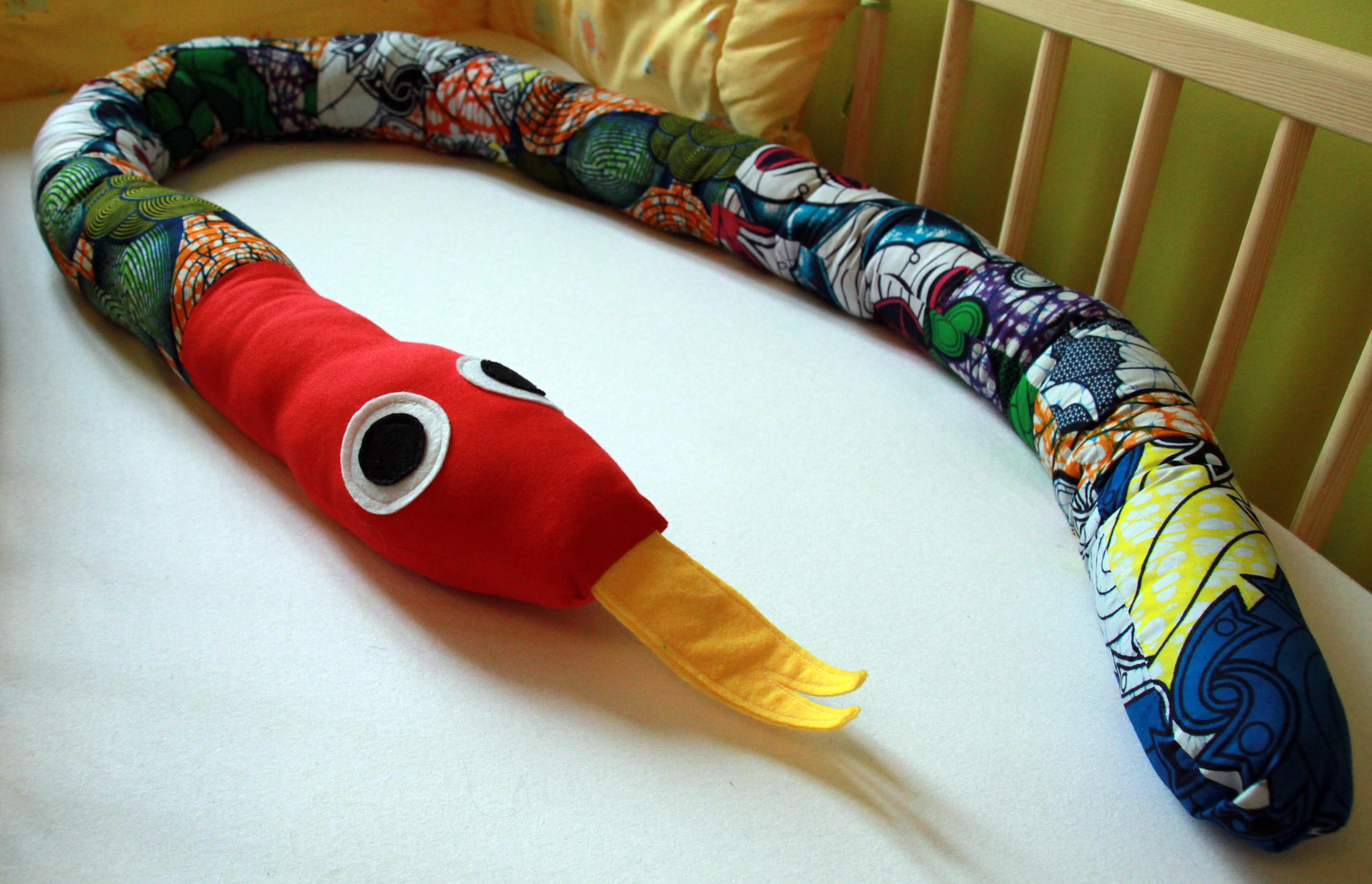 patron doudou serpent tricot