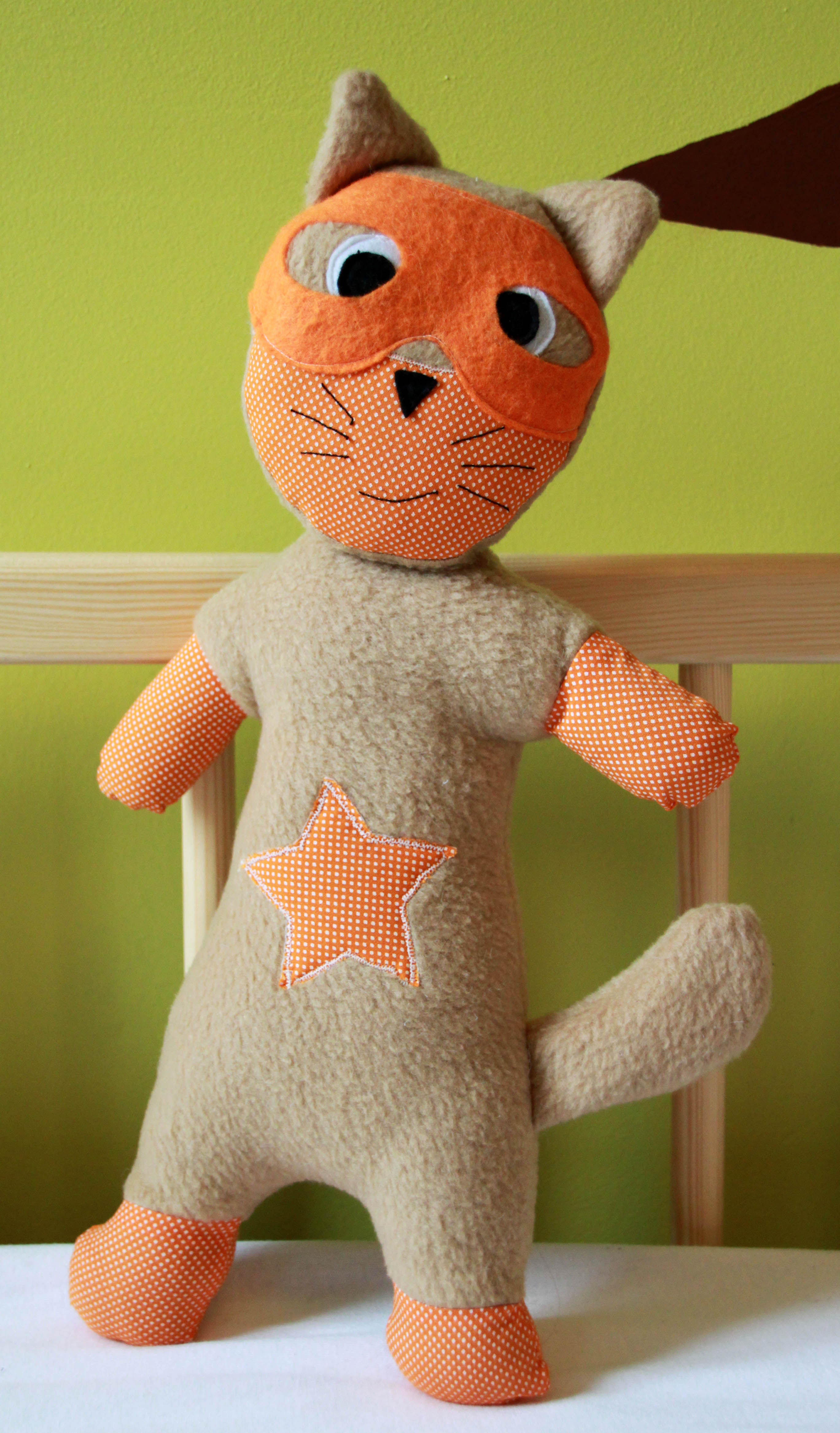 Doudou super h ros le chat super cat pop couture - Les chats gratuits ...