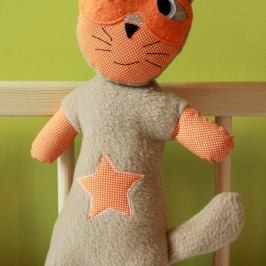 Doudou super héros – le chat, super cat