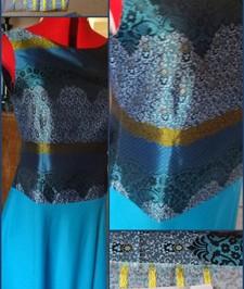 Couper un tissu à motifs