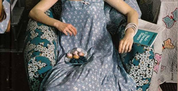 Robe style «Laura Ashley»