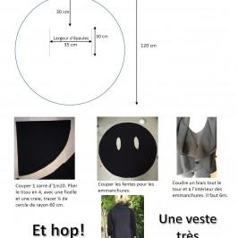 Veste cercle