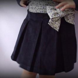 Jupe fille archives page 2 sur 4 pop couture - Patron jupe elastique fille ...
